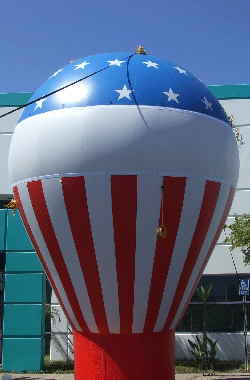 Tax Office Rooftop Balloon